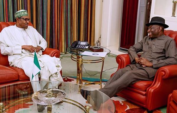 Buhari meets ex-President Jonathan in Aso Rock