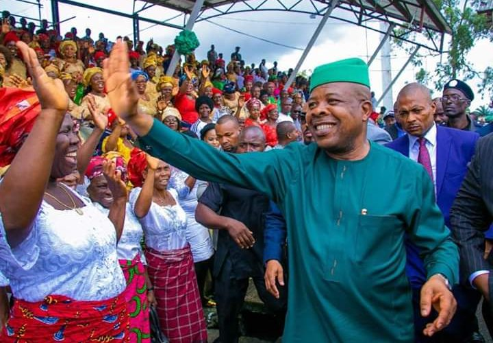 Breaking…Rt.Hon. Emeka Ihedioha Returns To Supreme Court.
