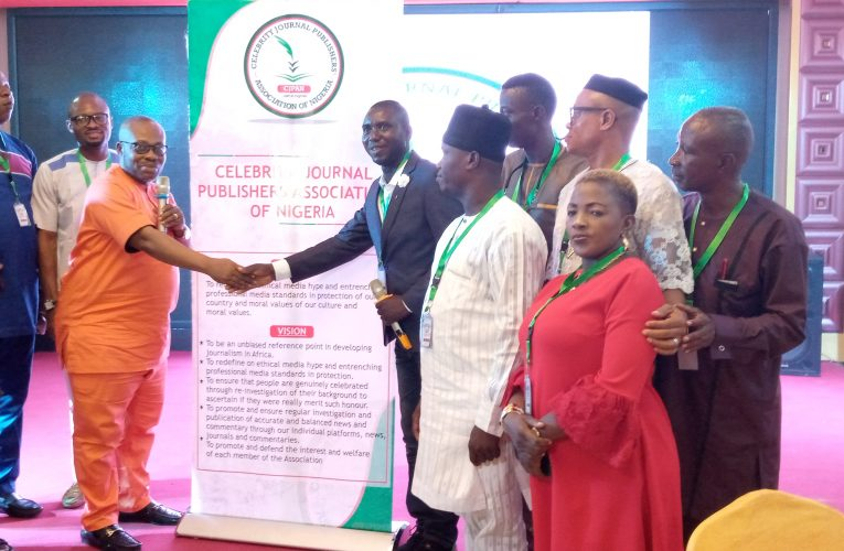 THE UNTOLD STORY OF CELEBRITY JOURNAL PUBLISHERS' ASSOCIATION OF NIGERIA (CJPAN) OFFICIAL UNVEILING AND INDUCTION OF PATRONS