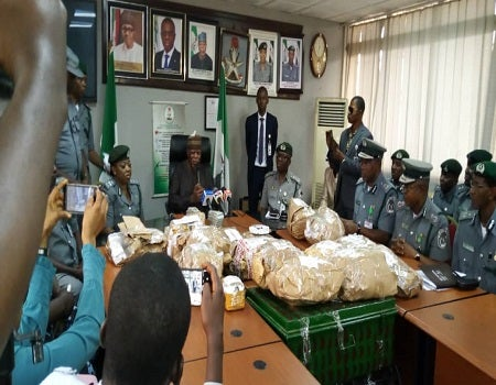 Money Laundering: $8,065,615 Impounded By Customs At Lagos Airport