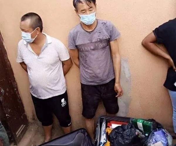 COVID -19: Police Arrests Chinese Nationals On Illegal Mining of Gold In Zamfara