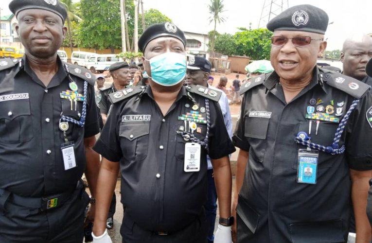 LOCKDOWN ORDER: AIG ILIYASU, LAGOS, OGUN CPs MONITOR BORDERS