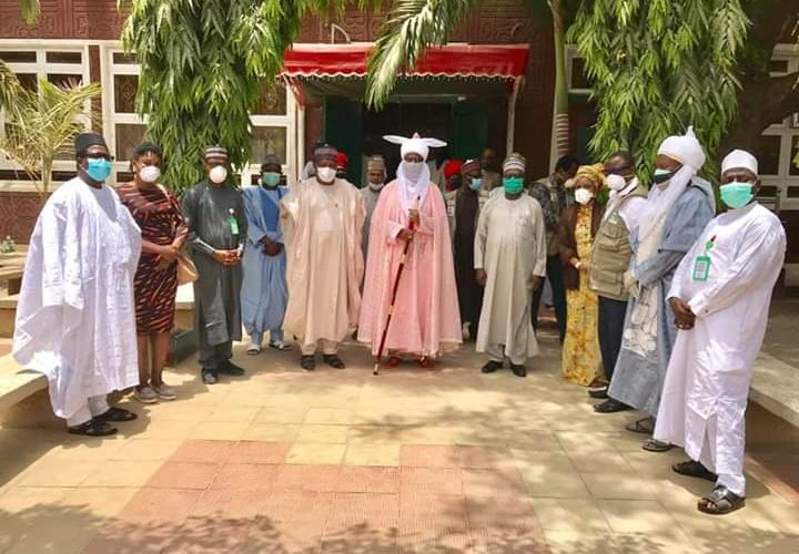 Rescue Mission: Presidential Taskforce on COVID-19 Visits Emir of Kano Over Multiple Deaths.