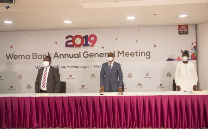Wema Bank Holds AGM By Proxy, Assures Stakeholders Of Growth