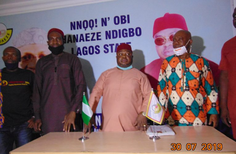 WE CAN NOT LOSE FOCUS TO CHEAP BLACKMAIL AND DISTRACTION – OhanaEze Ndigbo, Lagos