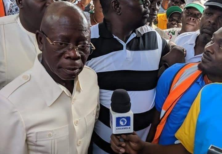 Archives: The Man That Predicted The Fall of Sacked APC National Chairman In 2018; ADAMS OSHIOMHOLE – THE DANGEROUS DRIVER