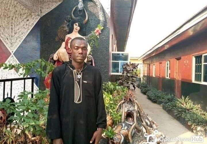 YOUTHS DESTROY CHURCH OF SATAN,  FOUNDER ARRESTED IN ABIA