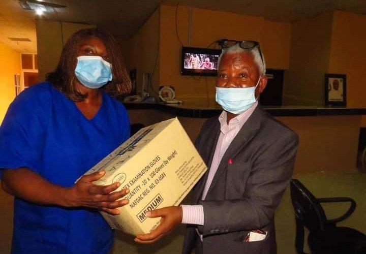 COVID-19: Abia Diaspora Group Donates PPEs to Hospitals