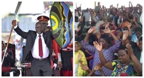 TANZANIAN PRESIDENT ASKS CITIZENS TO SHUN COVID-19 VACCINES, FOCUS ON PRAYERS