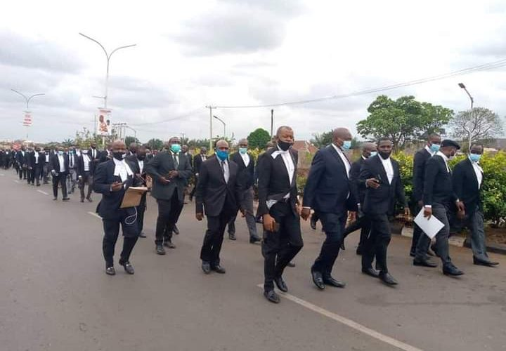 Anambra Lawyers Protest Kidnap, Murder Of Member, Appeals To Government To Bring Perpetrators To Book