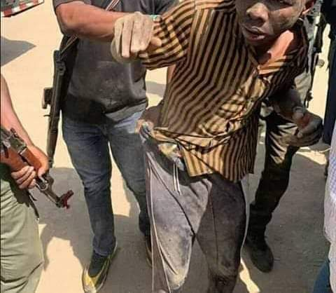 Drama As Police Arrests 13-year Old Boy For Killing Two Bandits In Katsina