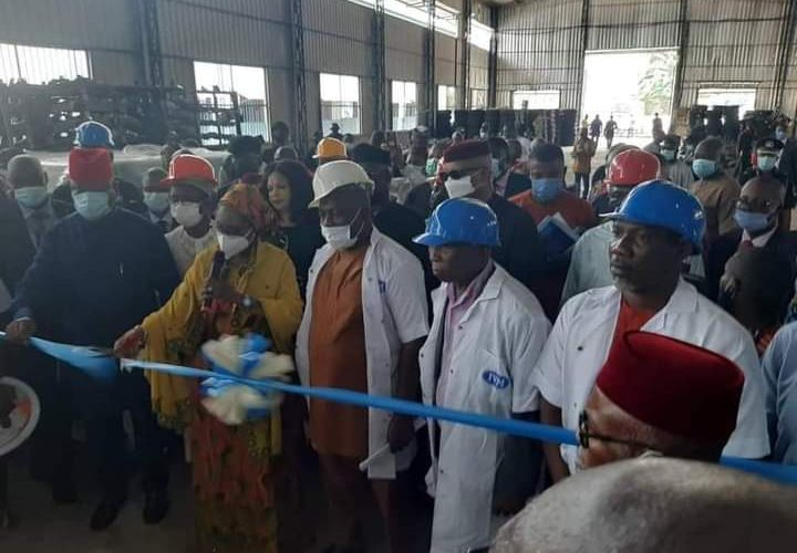 Finance Minister, Zainab Ahmed, Commissions Two Manufacturing Plants And One Automated Robotic Spraying Booth Unveiled By Innoson Group