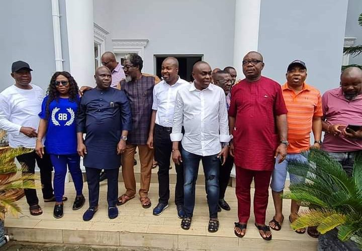 Let's Build Bridges Of Unity….Hon. Nkole Urges Ngwa Patriots, As He Hosts Them In Abuja